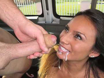 Latina Babe Natalia Mendez Fucked Hard On The Bus